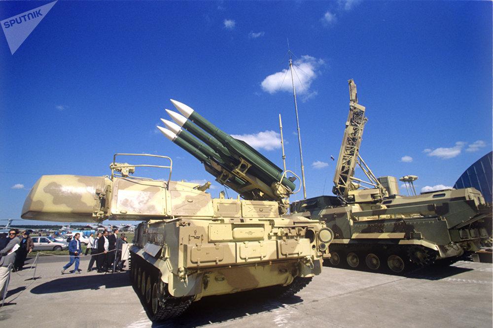 Buk-M1 missile system. (File)