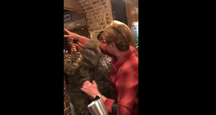 Judy Tucker Altercation with Soldiers