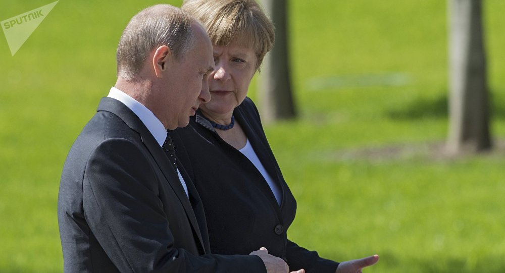 Merkel, Putin agree must focus on political process for Syria - Germany
