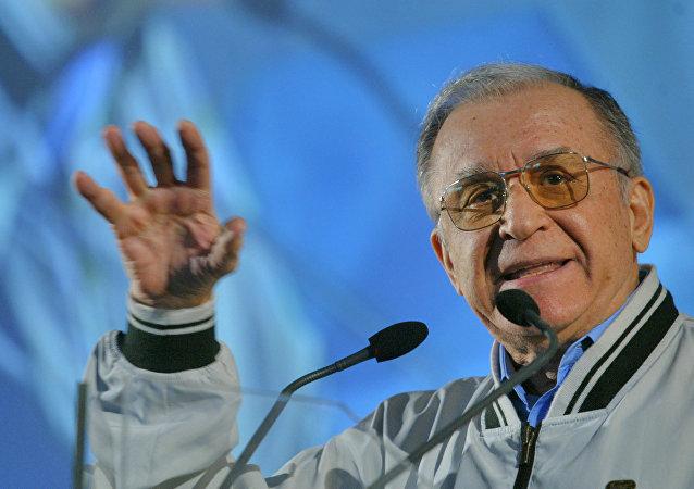Former Romanian President Ion Iliescu. (File)