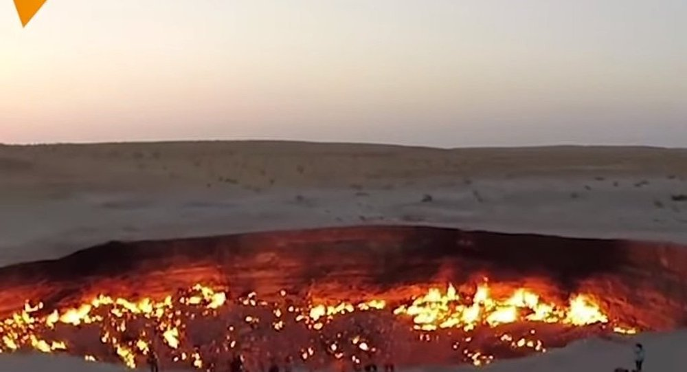 Turkmenistan's Very Own Gates Of Hell