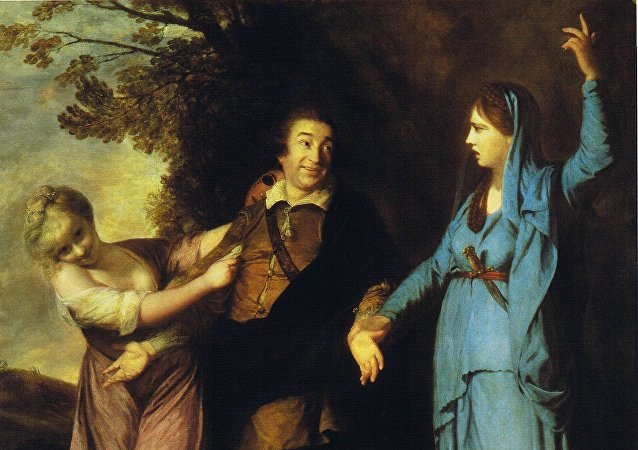 'Garrick Between Tragedy and Comedy' of Joshua Reynolds