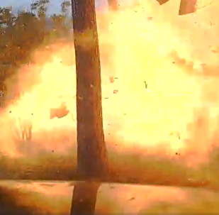 Texas Police Release Footage of Near-Fatal House Explosion