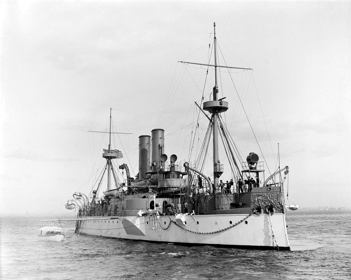USS Maine (archives photo)