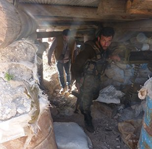 Underground tunnels in Eastern Ghouta. File photo