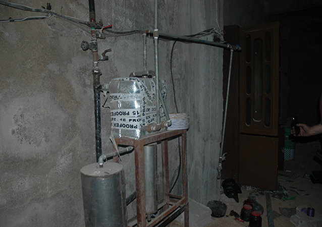 Chemical weapons lab in Douma