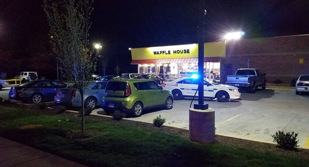 3 persons fatally shot & 4 others wounded at the Waffle House, 3571 Murfreesboro Pike