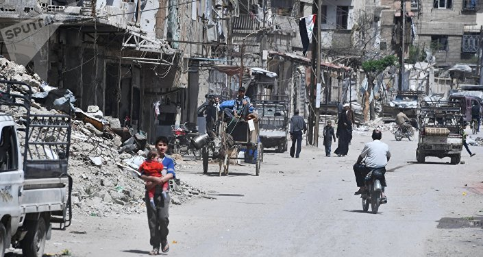 The city of Douma. File photo