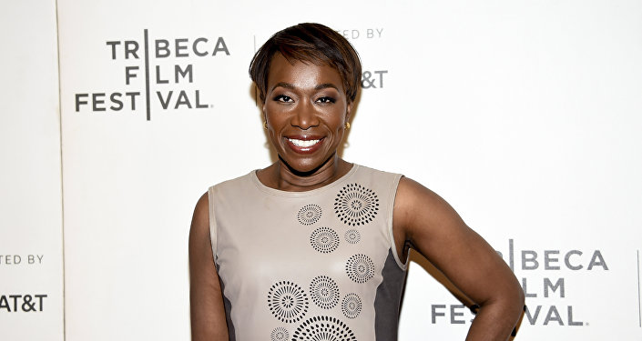 Joy Reid attends the Tribeca TV screening of Rest in Power: The Trayvon Martin Story at BMCC Tribeca PAC, during the 2018 Tribeca Film Festival on Friday, April 20, 2018, in New York.