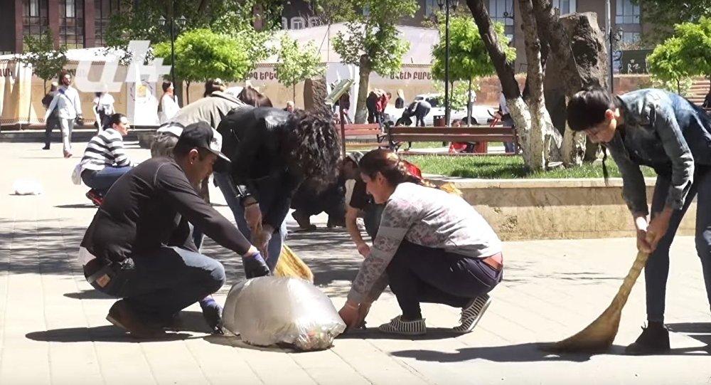 Gets Citizen Clean-Up
