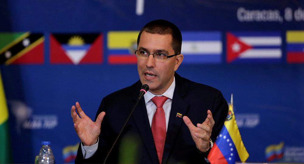 Jorge Arreaza, el canciller venezolano