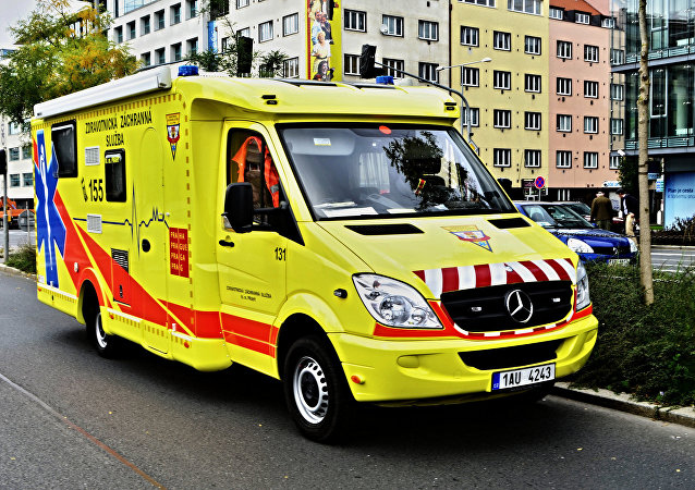 Ambulance in Czech Republic