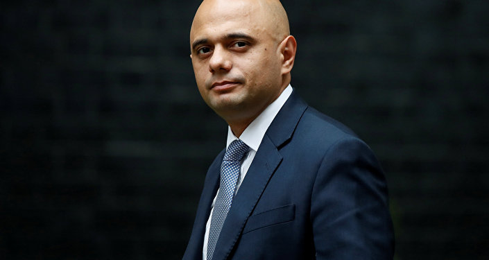 Britain's Secretary of State for Communities and Local Government, Sajid Javid, arrives in Downing Street for a cabinet meeting, in central London, Britain June 27, 2017