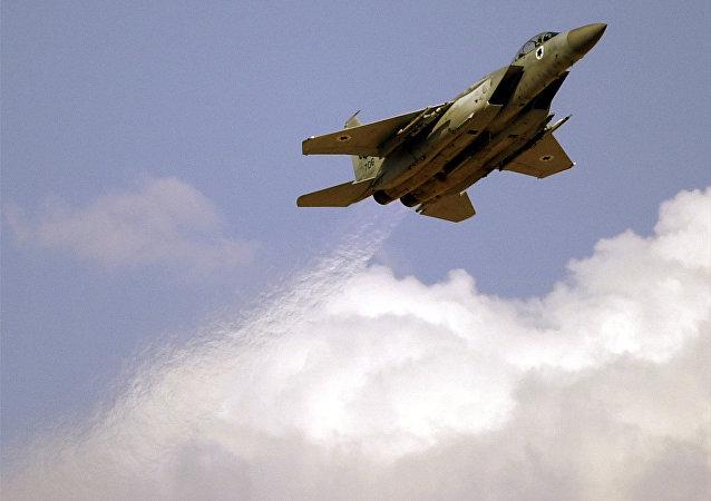 An Israeli Air Force F-15 (File)