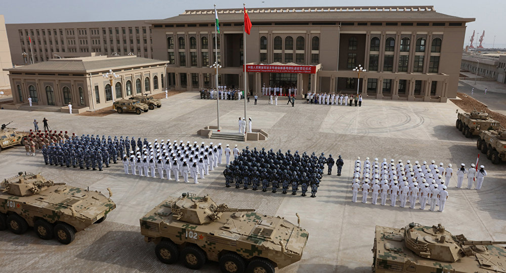 China is aiming lasers at United States  military pilots in Africa, Pentagon says