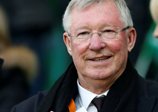 Soccer Football - Saint-Etienne v Manchester United - UEFA Europa League Round of 32 Second Leg - Stade Geoffroy-Guichard, Saint-Etienne, France - 22/2/17 Sir Alex Ferguson in the stands