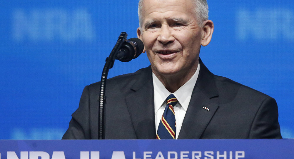 New NRA President Is Oliver North, Key Figure in Iran-Contra Scandal