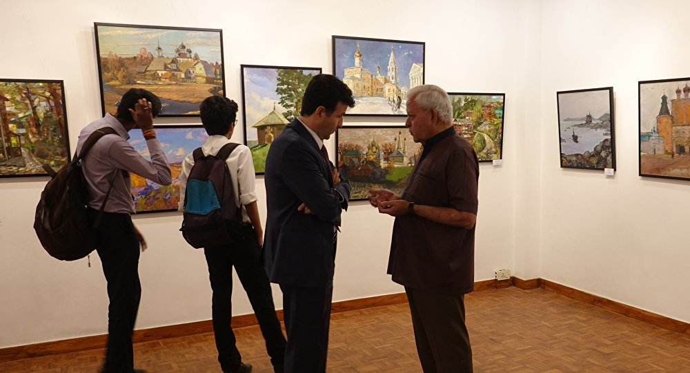 India Hosts 'Temples of Spirit: Russia & India' - Collaborative Art Exhibition