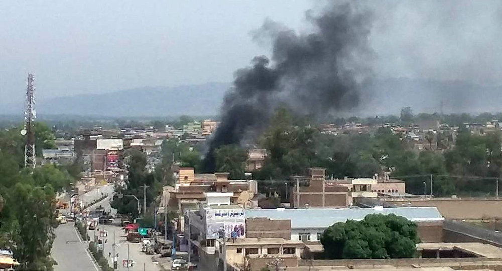 7 killed as blasts, gunfire rock Jalalabad