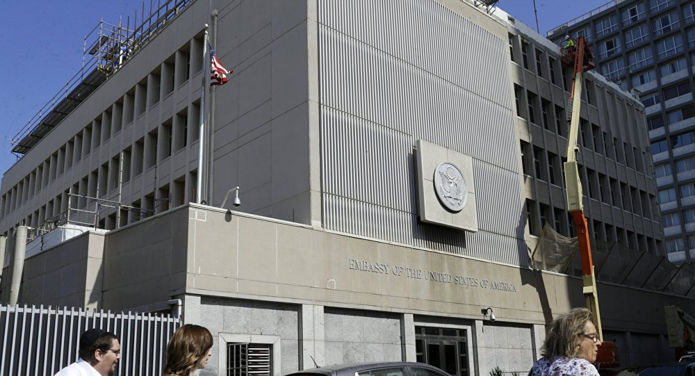 The U.S. Consulate in Jerusalem. The building will further house the U.S. Embassy