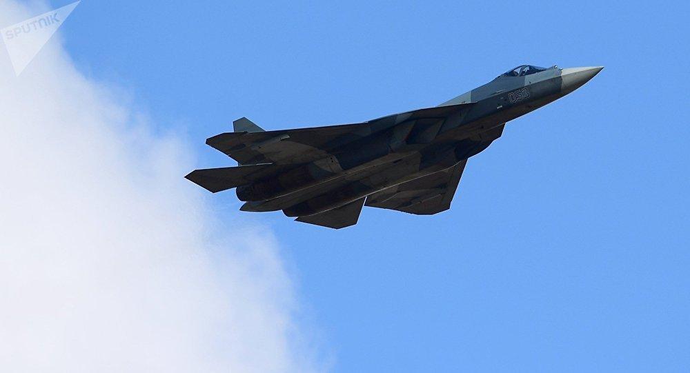 Sukhoi-57 multipurpose jet fighter