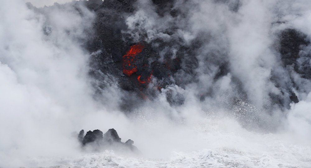 Coast Guard: Kilauea's Lava Ocean Entry Carries High Risks