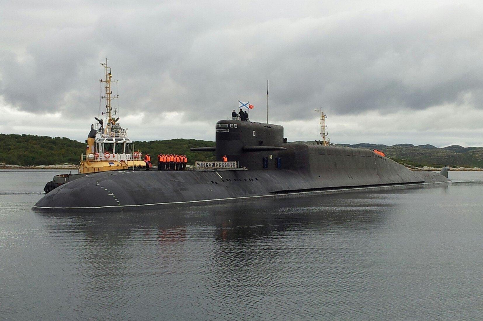 The Novomoskovsk strategic missile sub.