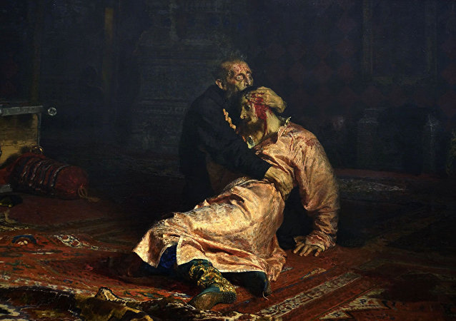 Ivan the Terrible and his son Ivan