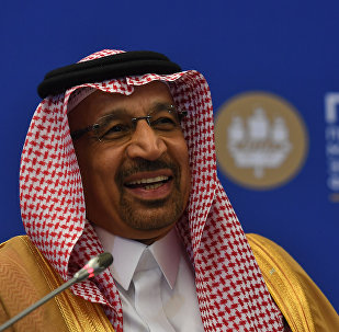 H.E. Khalid A. Al-Falih, Minister of Energy, Industry and Mineral Resources of the Kingdom of Saudi Arabia; Chairman of the Board of Directors, Saudi Arabian Oil Company (Saudi Aramco), at the St. Petersburg International Economic Forum