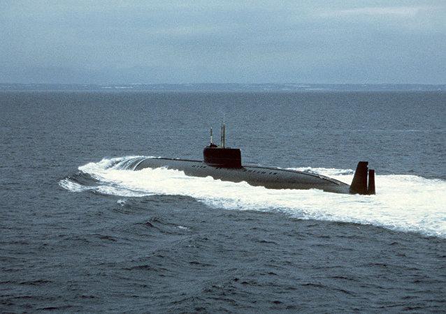 Nuclear submarine K-162