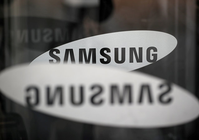The logo of Samsung Electronics is seen at its office building in Seoul, South Korea, March 23, 2018
