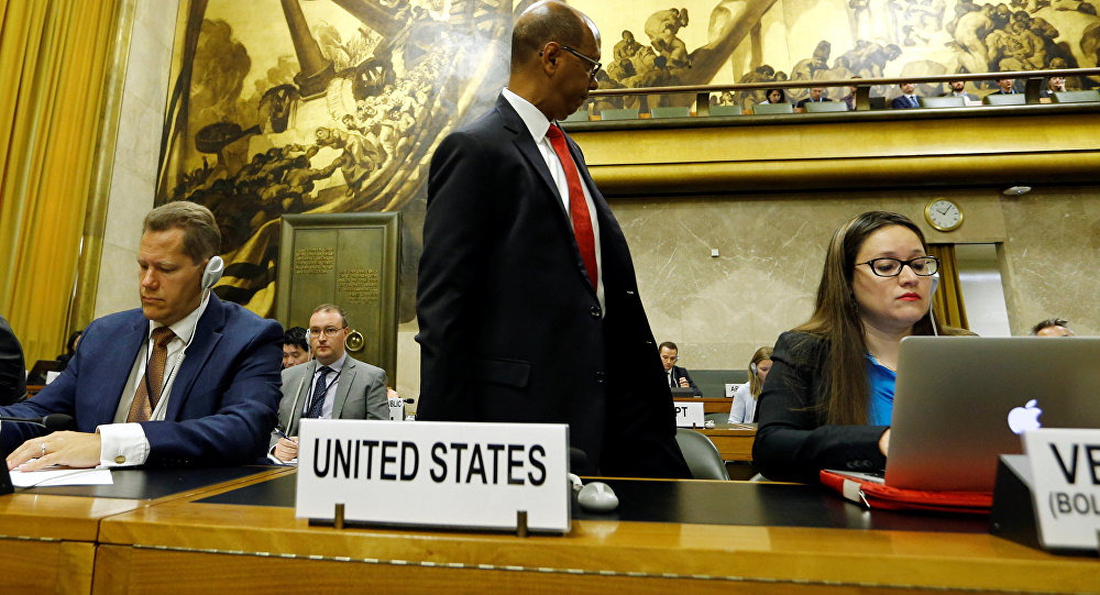 US Stages Walkout as Syria Starts Presidency of UN Conference on Disarmament
