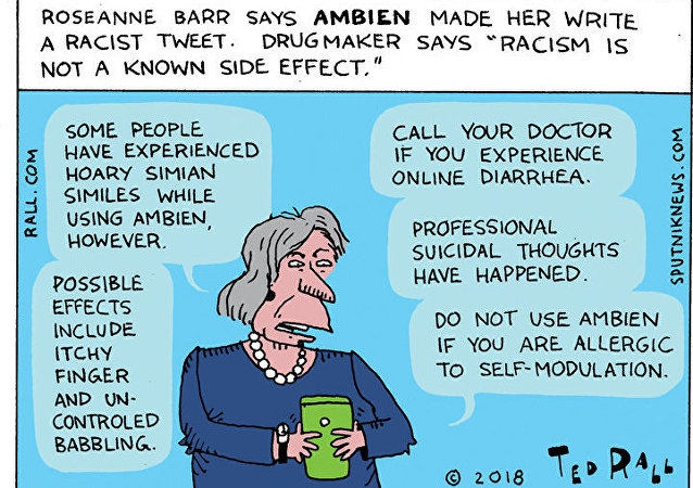 Blame it on the Ambien