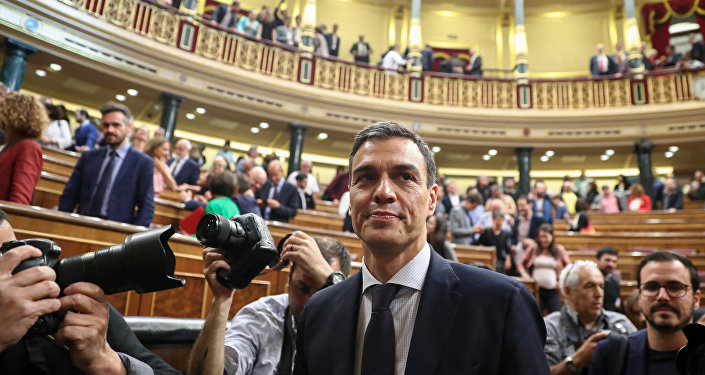 Socialist Party Leader Sworn In As Spain's New Prime Minister