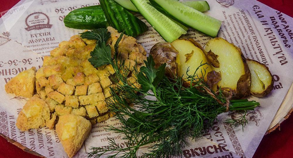 Bear claw – traditional Mordovian dish