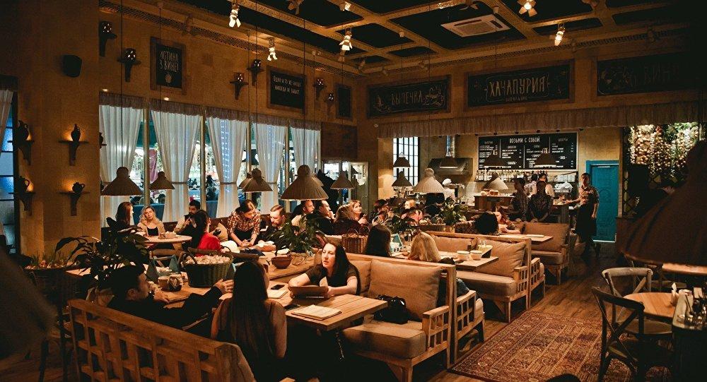 Nizhny Novgorod's Hachapuria Café