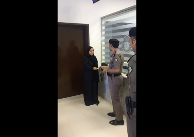 Viral video shows historic moment the first Saudi woman was given a driver's license