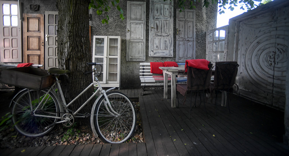 Tchaikovsky's summer terrace