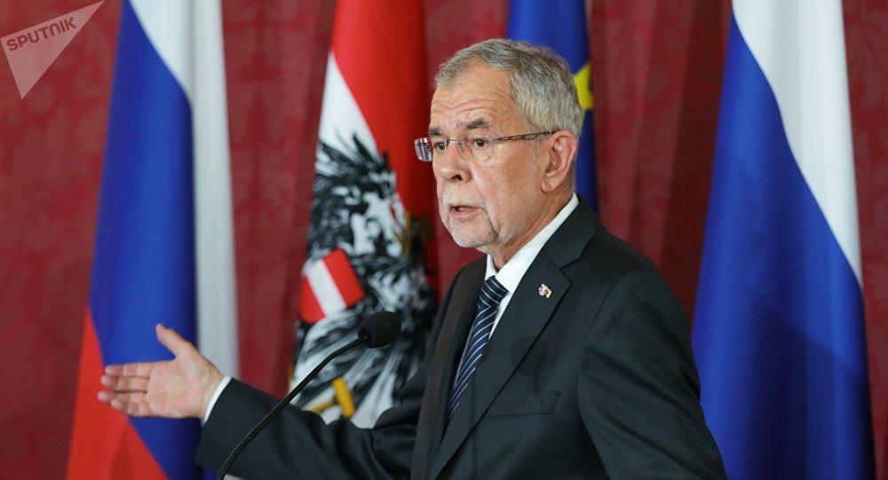President of Austria Alexander Van der Bellen