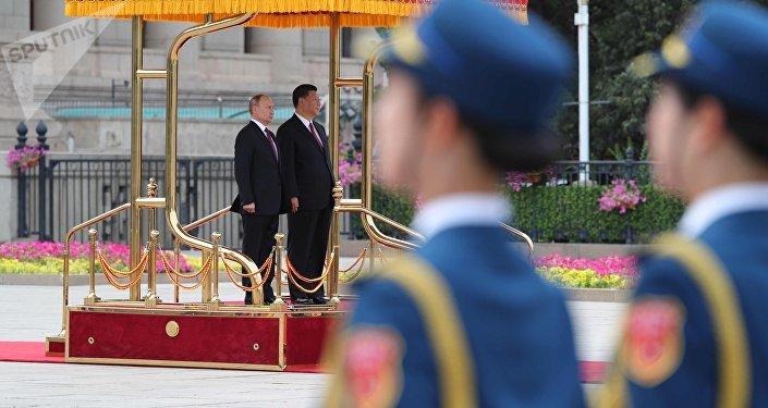President Vladimir Putin's state visit to China