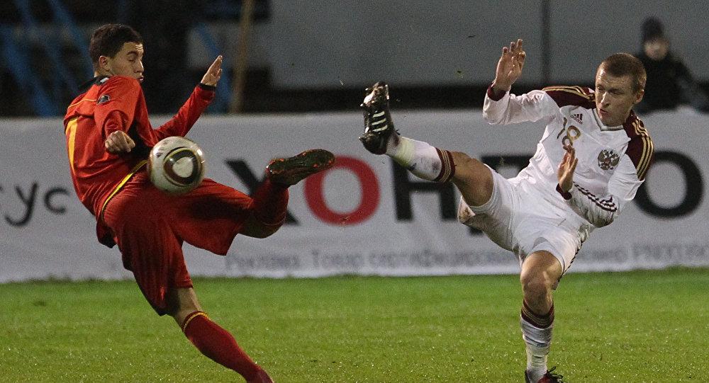 Belgium midfielder Eden Khazar