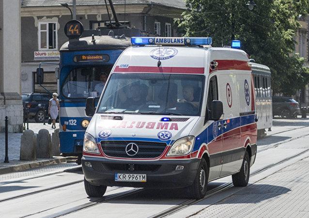 Ambulance in Poland