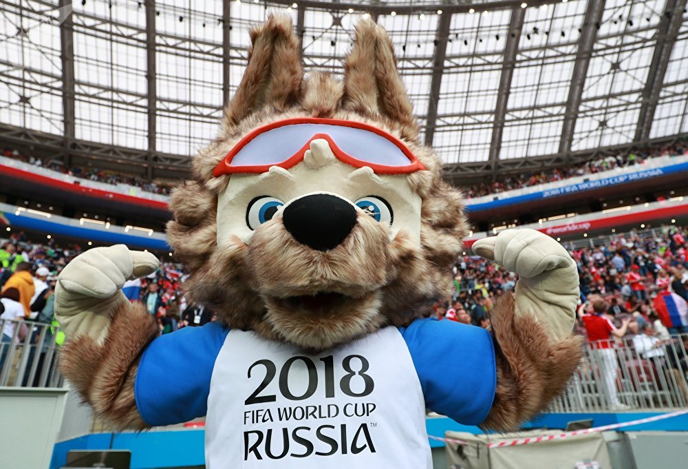 Fans Celebrate Opening Day of FIFA World Cup 2018 in Russia