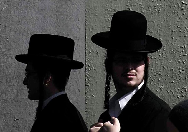 Ultra-Orthodox Jewish men (photo used for illustration purpose)