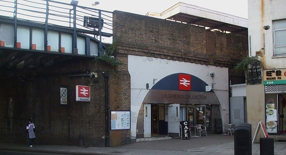 Loughborough Junction station entrance