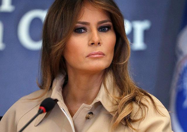 U.S. first lady Melania Trump (File)