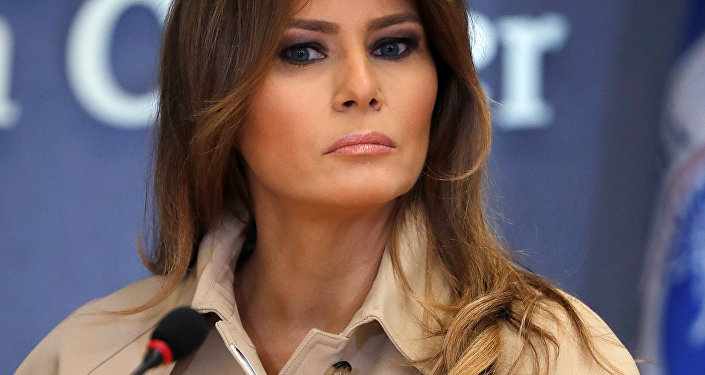 U.S. first lady Melania Trump (File)