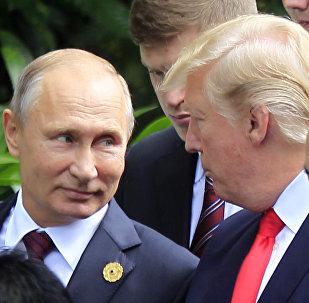 Wladimir Putin und Donald Trump bei ASEAN-Gipfel in Danang