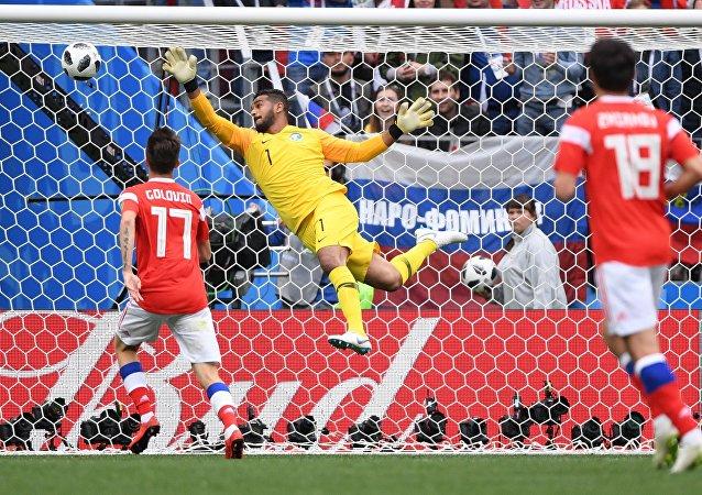 Russland schlägt Saudi-Arabien bei WM-Eröffnungsspiel in Moskau