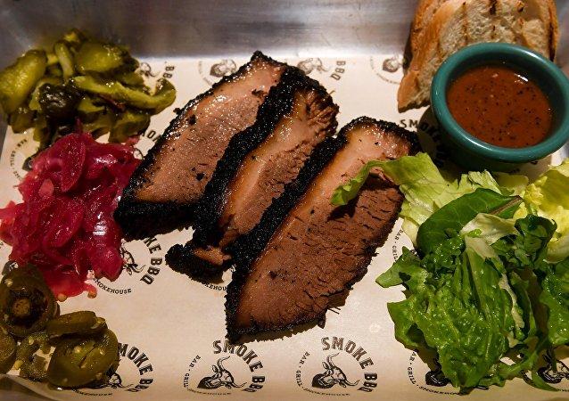Smoke BBQ's special Texas brisket